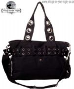 BANNED Ladies Gothic Large Black Handcuff Bag | Gothic Bags & Accessories